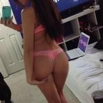 Sexy nue devant sa webcam 035