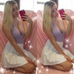 Sexy nue devant sa webcam 237